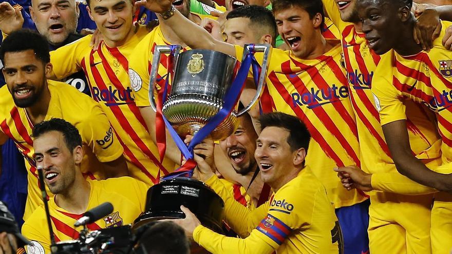 El Barcelona arrolla al Athletic y conquista la Copa del Rey
