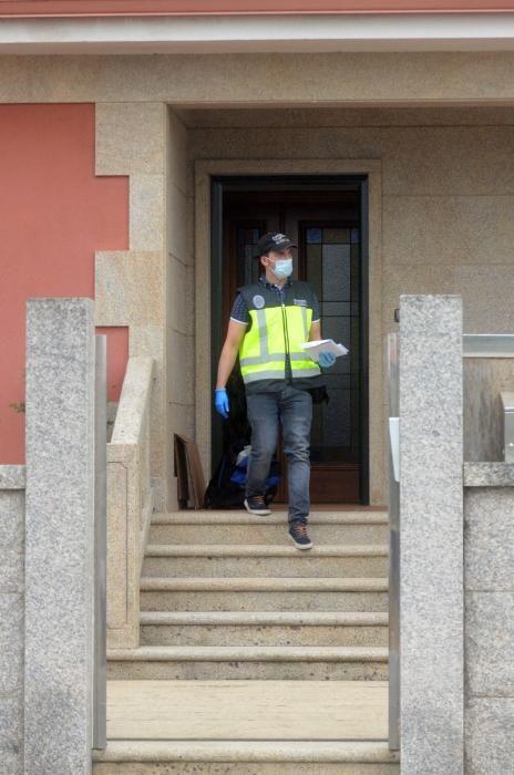 Registro de una vivienda en Ribadumia