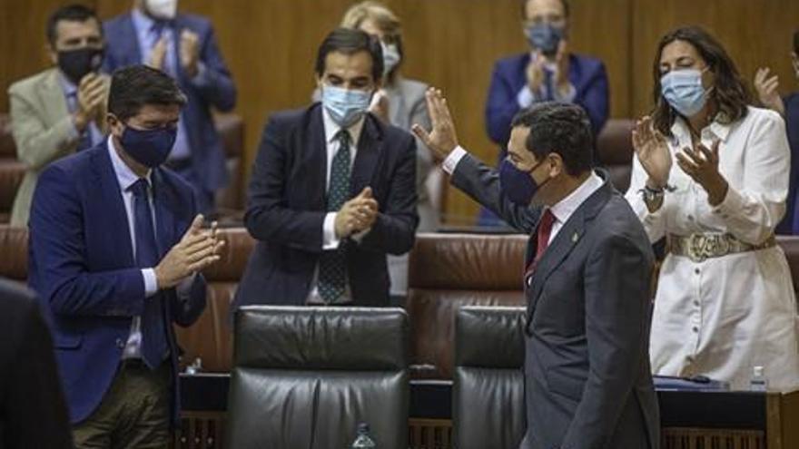 El Parlamento reclama que Andalucía reciba 23.000 millones de los fondos de la UE con el único rechazo del PSOE-A