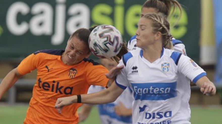 El Valencia Femenino se deja remontar en unos minutos de locura