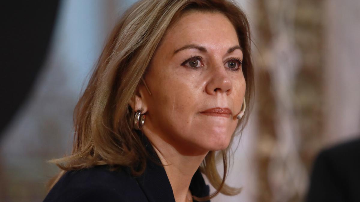 L'ex-secretària general del PP María Dolores de Cospedal.