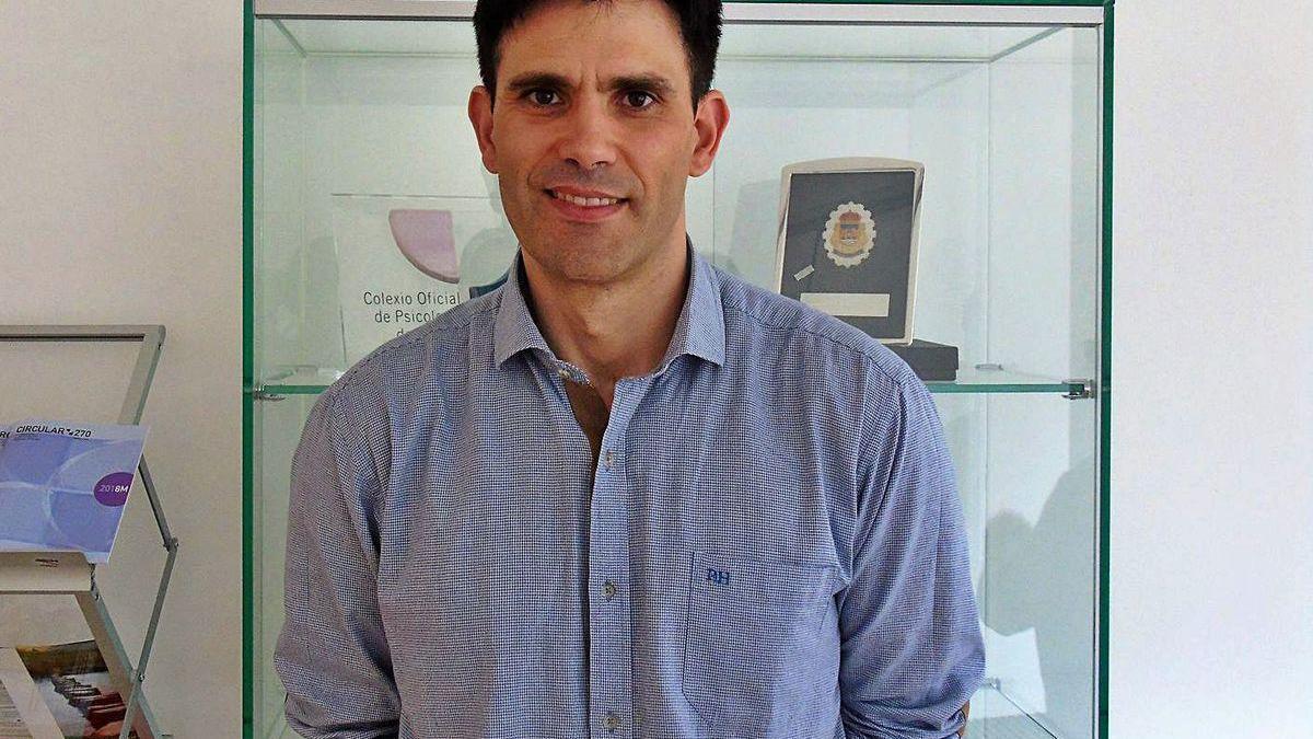 El psicólogo Rubén Villar