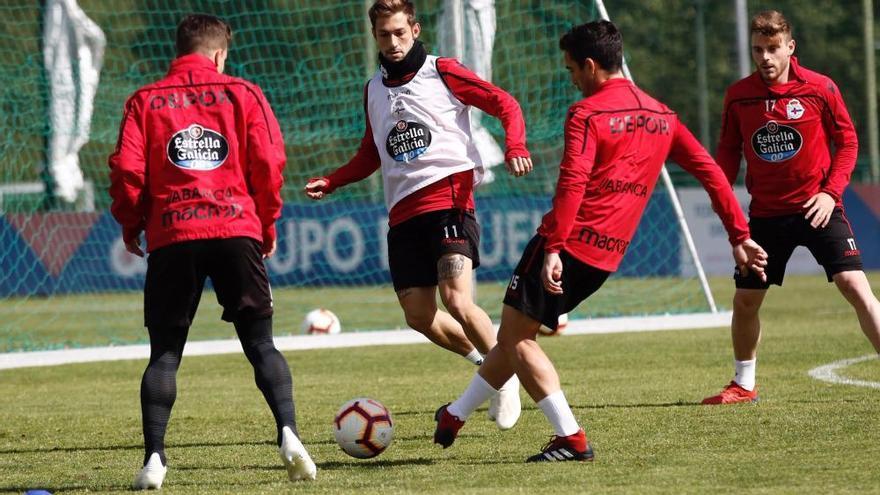 El Dépor prepara el partido contra el Cádiz