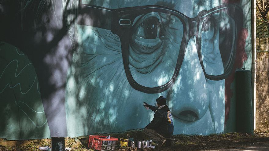 Estrella Galicia crea una galería de arte al aire libre en el Camino Francés