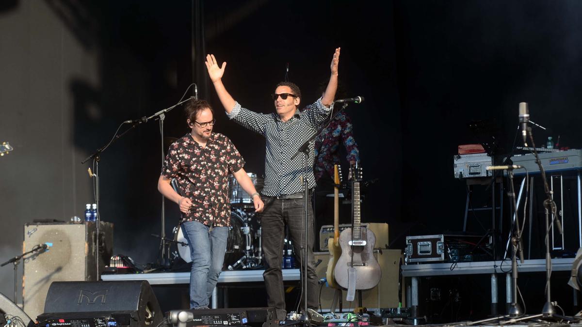 Un momento durante el concierto de Depedro en el Atlantic Fest