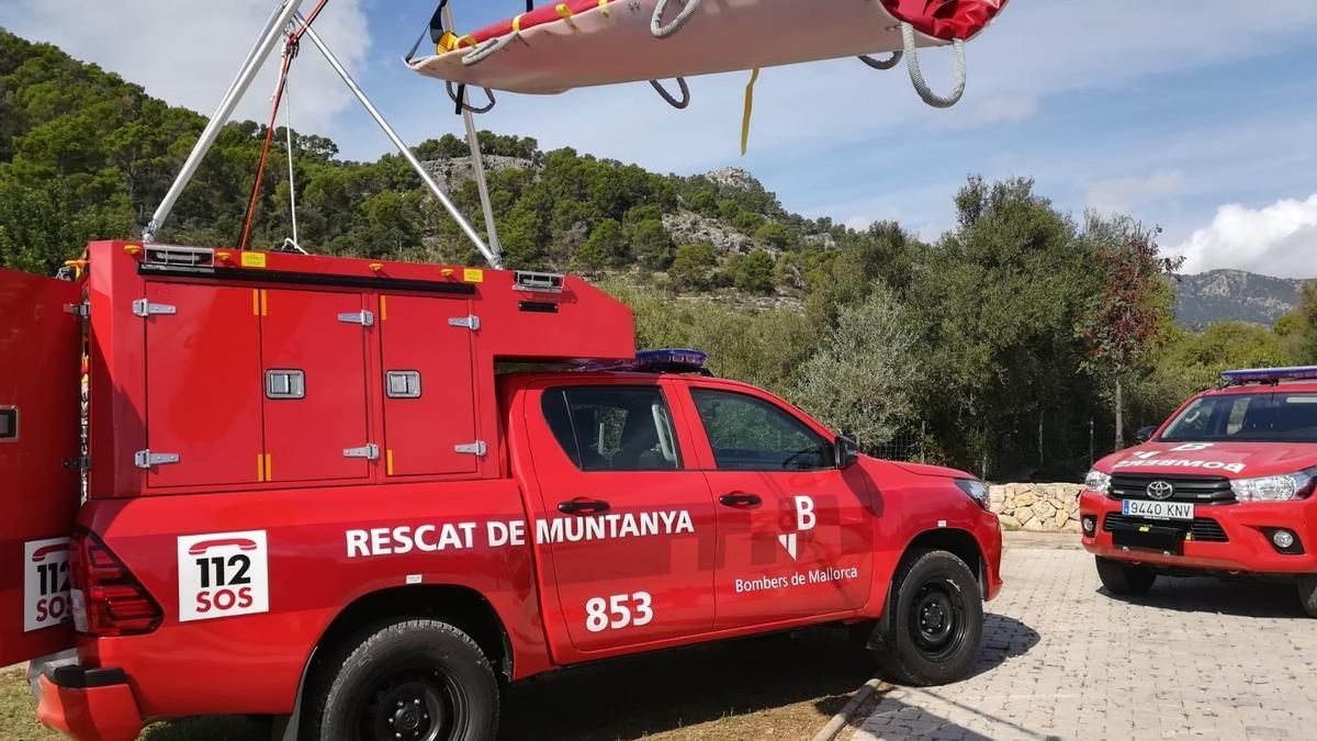 Los Bombers de Mallorca han participado este domingo en tres rescates en Artà, Bunyola y Puigpunyent.