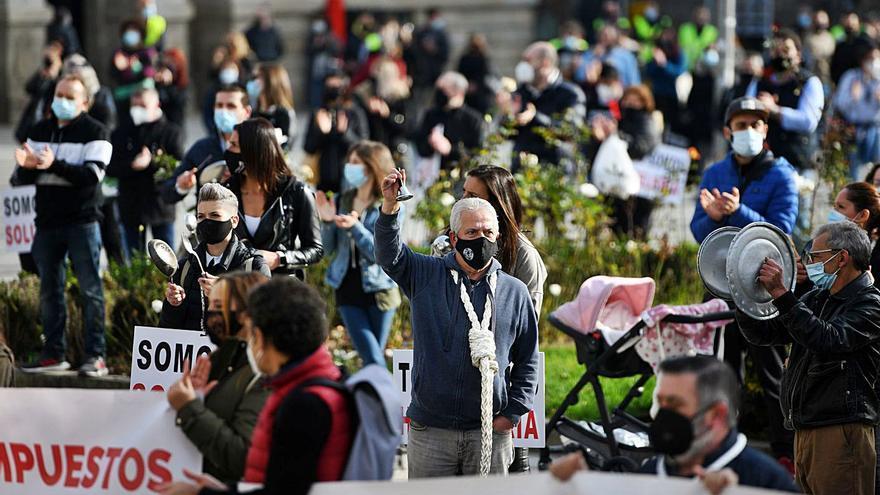 """Hosteleros y otros autónomos organizan dos marchas por unas medidas """"insuficientes"""""""