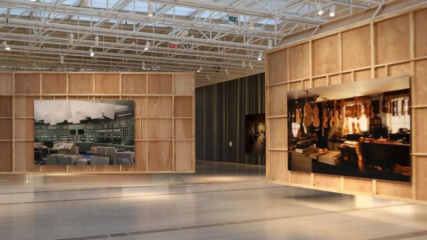 Thomas Demand muestra su falso mundo de papel en Santander