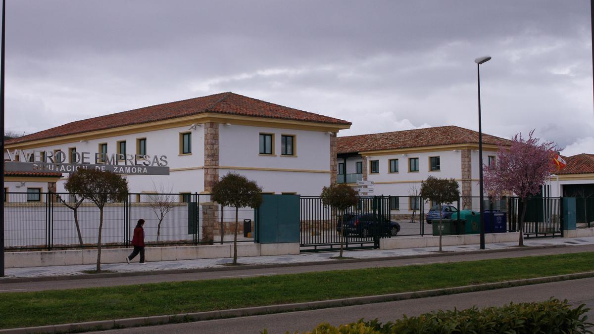 Vista general del vivero de empresas de La Aldehuela.