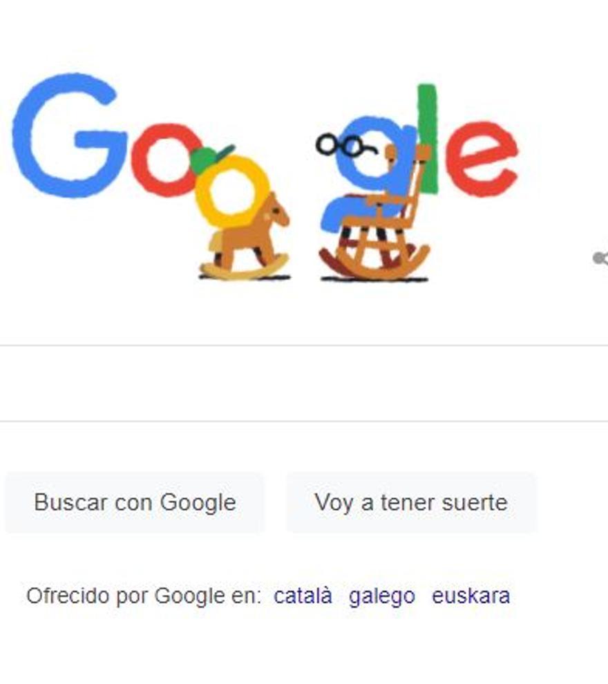 Google celebra el Día de los Abuelos con un 'doodle'