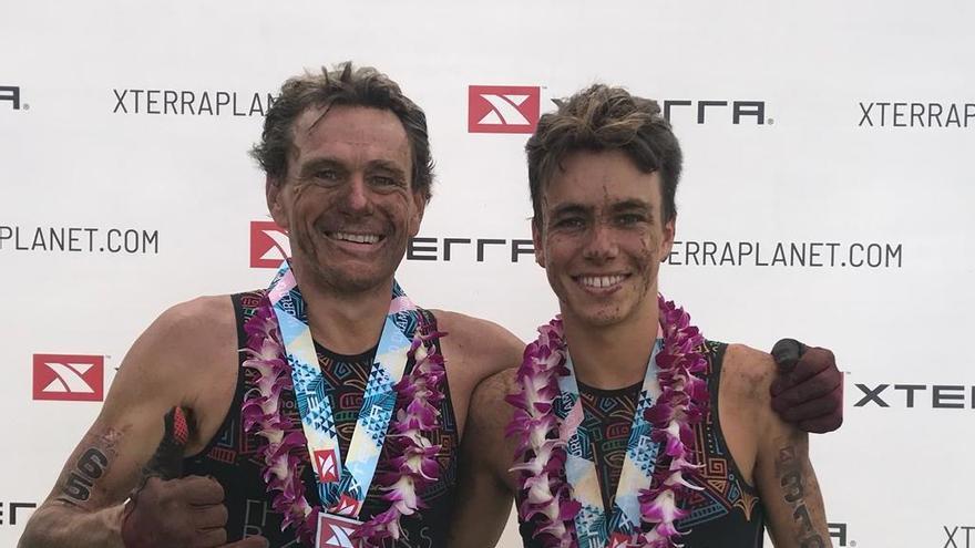 """El murciano Sergio Baxter gana el campeonato del mundo de """"Xterra"""" en Hawai"""