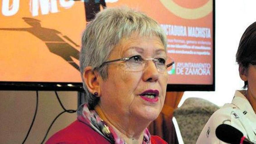 Carmen Álvarez, concejala de Igualdad del Ayuntamiento de Zamora. | José Luis Fernández