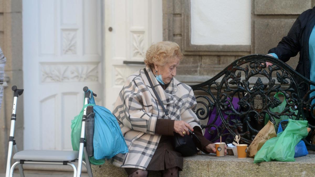 """En Vilagarcía varias cafeterías se sumaron al """"take away"""" durante este mes de noviembre."""