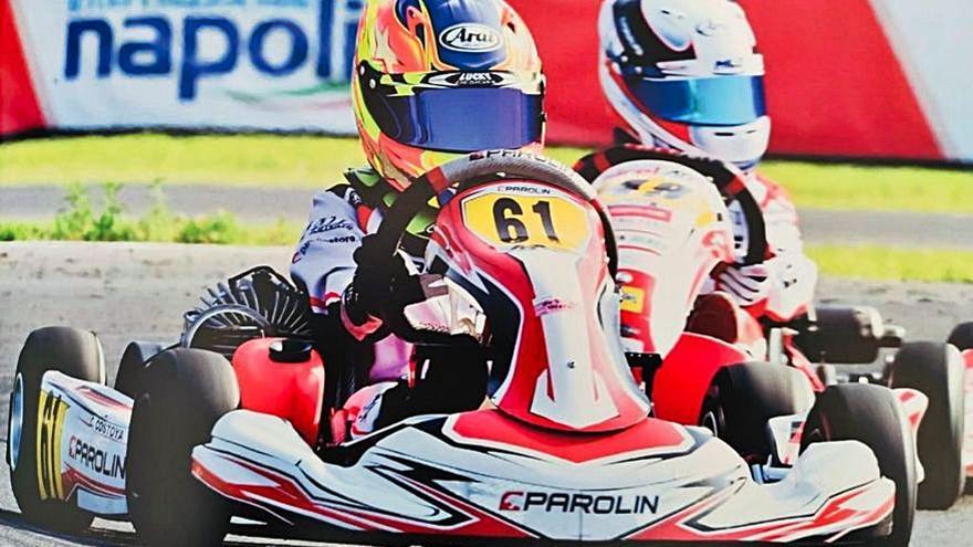 El silledense Christian Costoya no encuentra rival en el circuito de Sarno