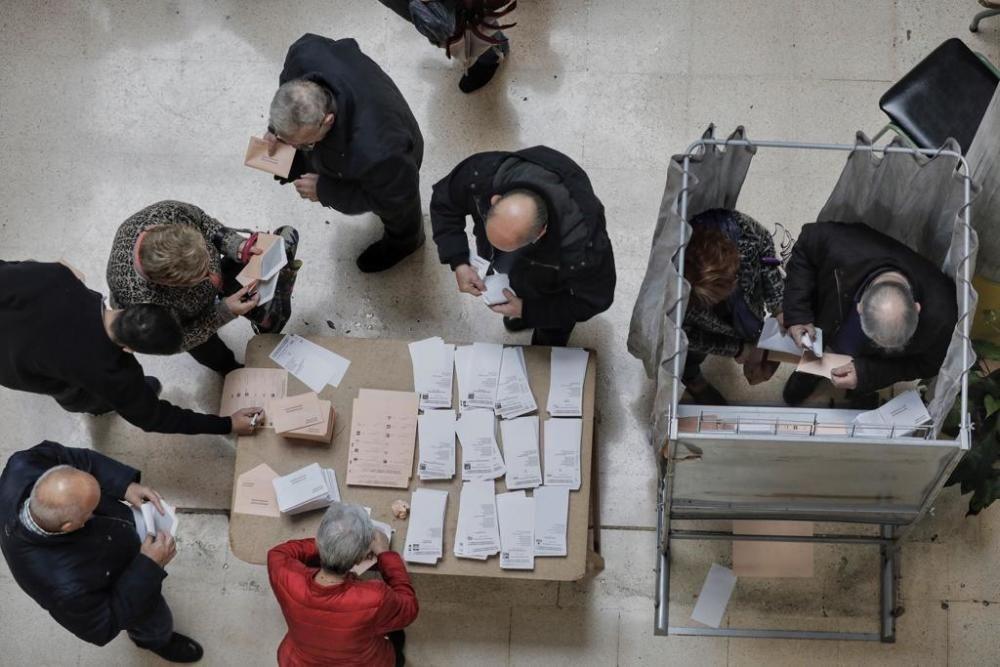 Así transcurren las elecciones generales en Mallorca