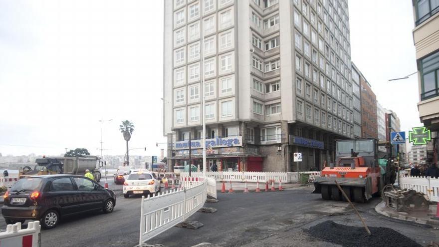 La calle Rubine estará cerrada al tráfico por obras más de un mes