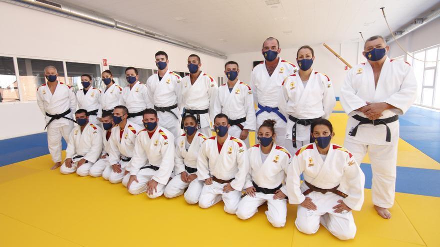 Militares y judo, unidos de la mano en Cáceres