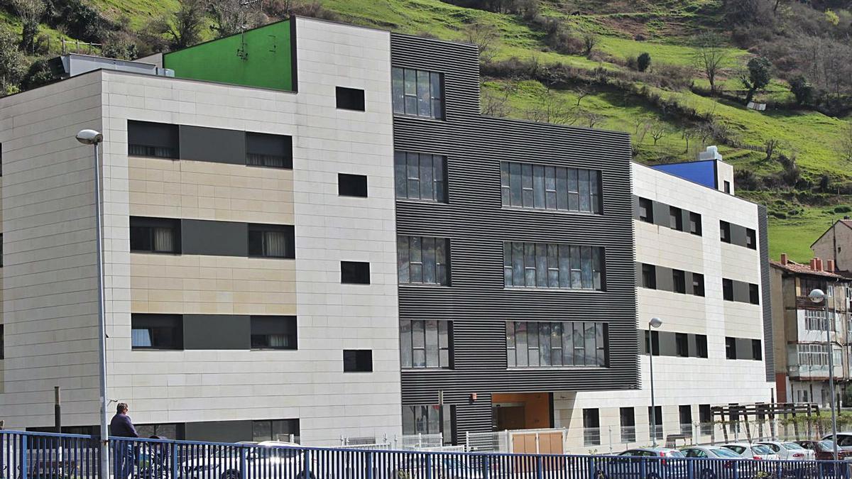 La residencia geriátrica de Sotiello, en Moreda. | Camporro