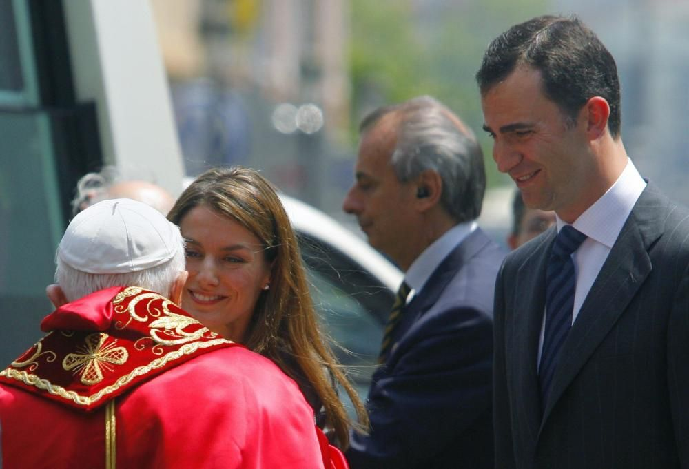 Con el papa Benedicto XVI