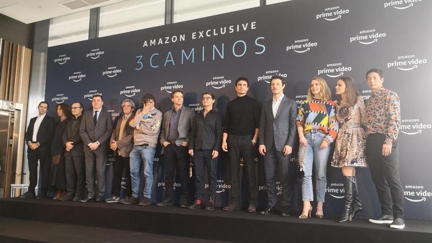 Amazon presenta '3 Caminos', una serie para promocionar el Camino de Santiago