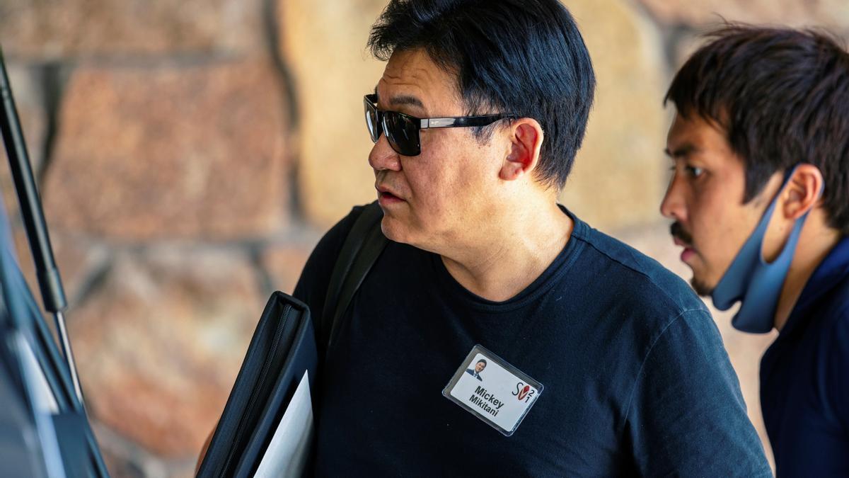Hiroshi Mikitani, presidente ejecutivo de Rakuten.