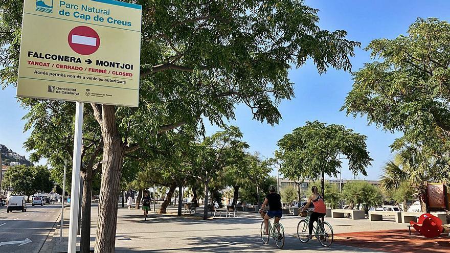 Joan Plana i Francesc Giner fan balanç de la limitació d'accés al parc