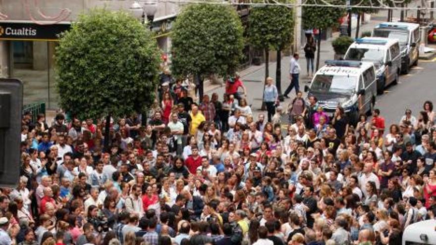 Concentración en Gijón