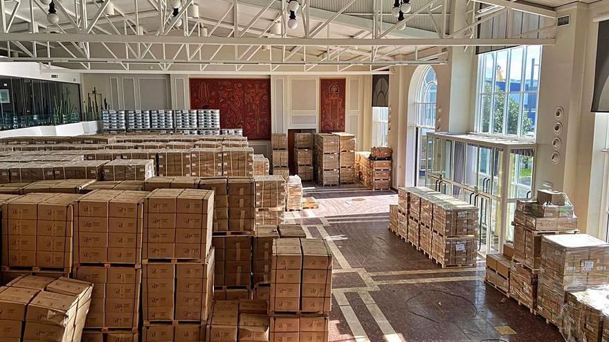 Zona Franca gana 1.000 m2 para logística en Bouzas al convertir la antigua sala de exposiciones en almacén