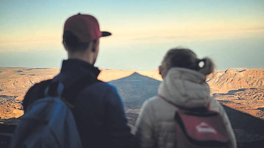 Mágico atardecer en el Teide