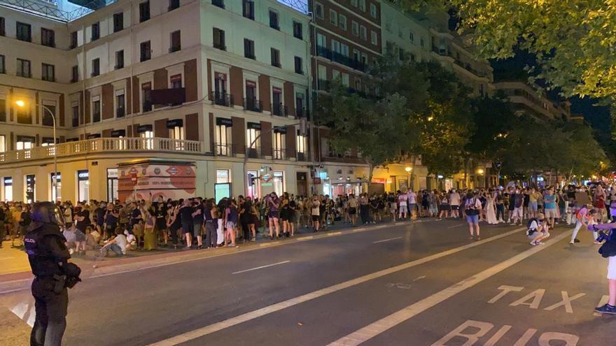 Delegación de Gobierno analiza la actuación policial en la manifestación por Samuel en Madrid
