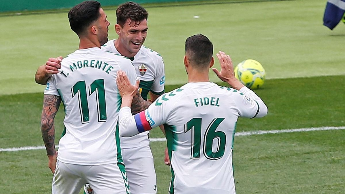 A goal from Lucas Boyé gives Elche the victory.