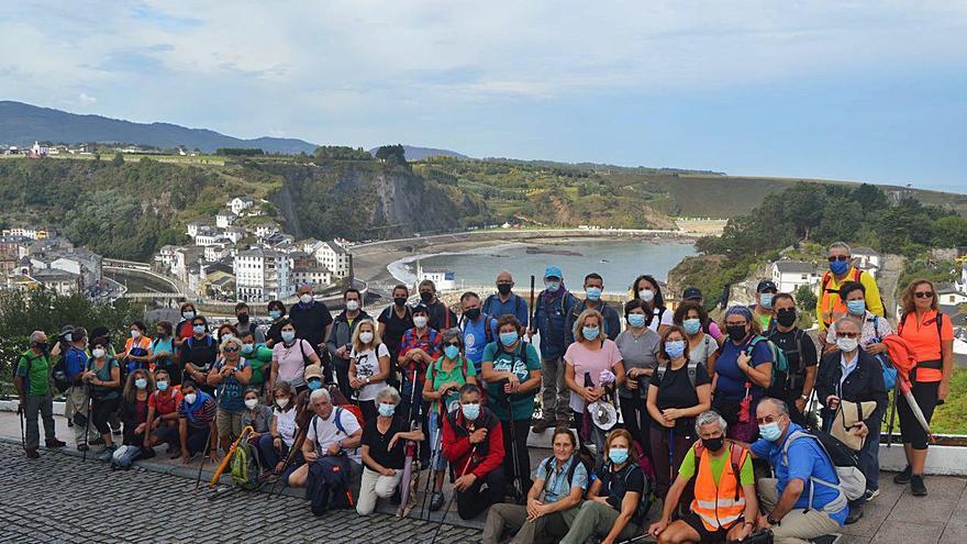 Los Amigos del Camino de Santiago de Siero recuperan rutas