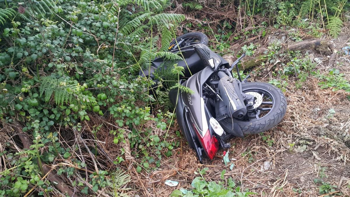 Moto robada, recuperada en A Coruña.