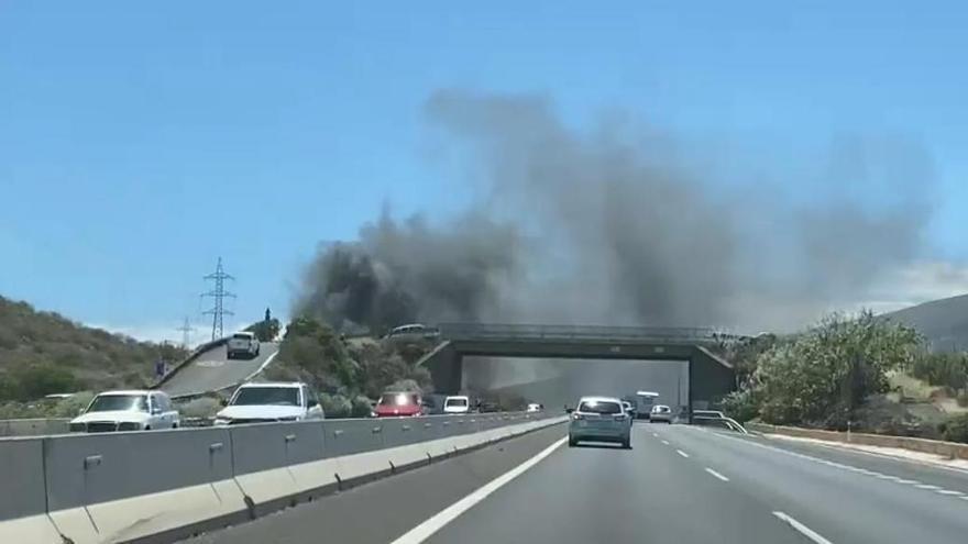Incendio en El Socorro, Güímar