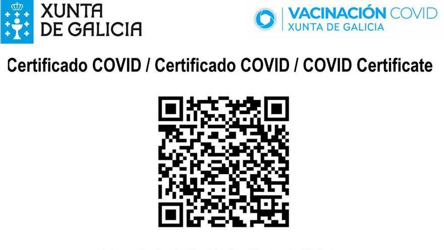 Así es el pasaporte COVID de la xunta para los gallegos vacunados