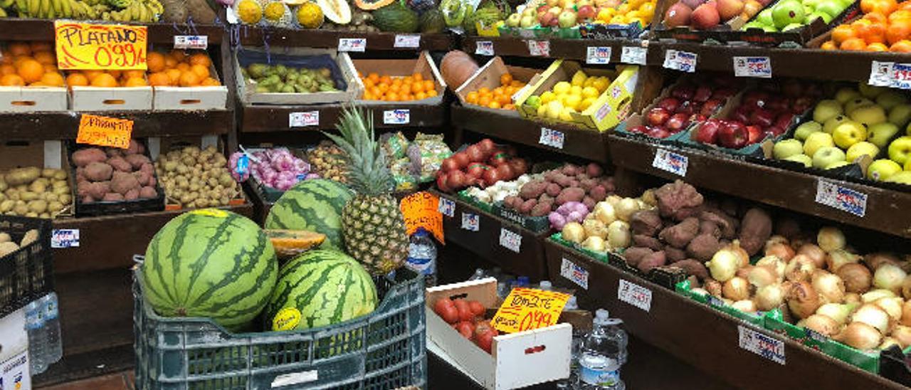 Los productos frescos disparan el precio de la cesta de la compra de Lanzarote