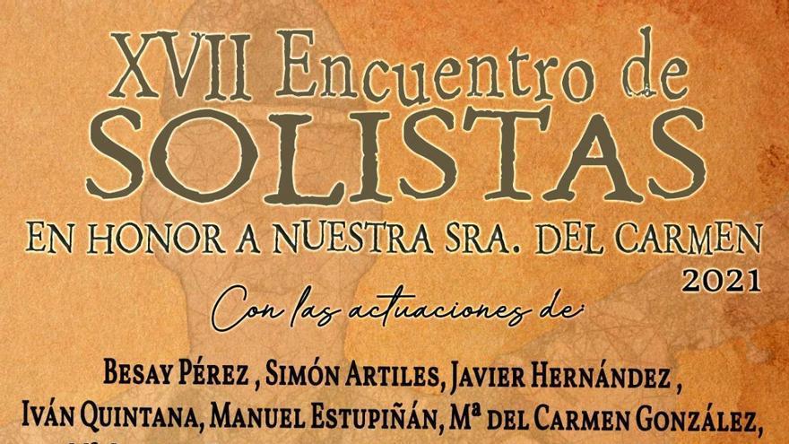 XVII Encuentro de Solistas en honor a Nuestra Señora del Carmen de Morro Jable
