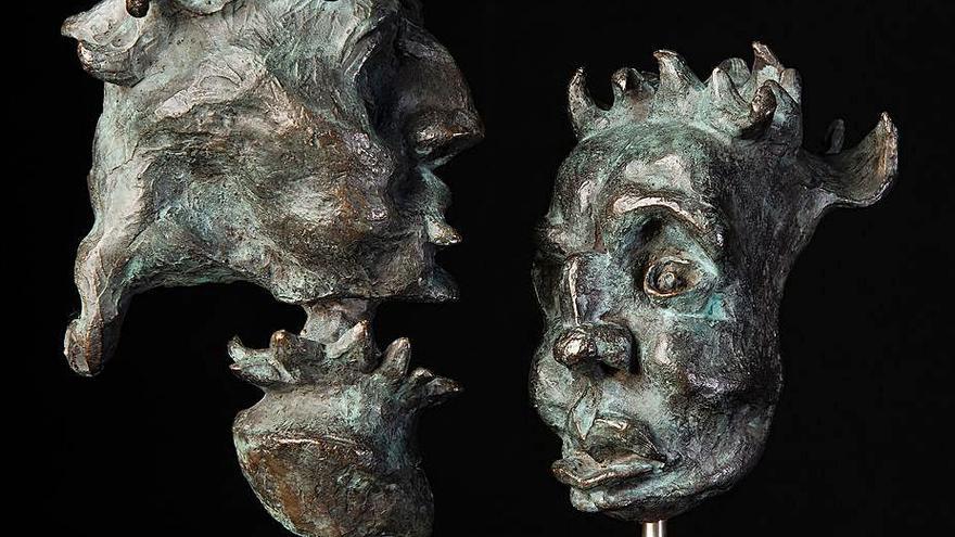 Juan Marqués explora la historia de Canarias en su muestra 'Purpurae uti materia'