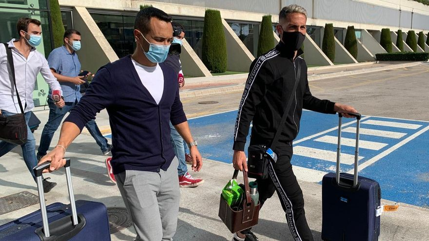 Braian Cufré ha aterrizado esta tarde en el aeropuerto de Son Sant Joan.