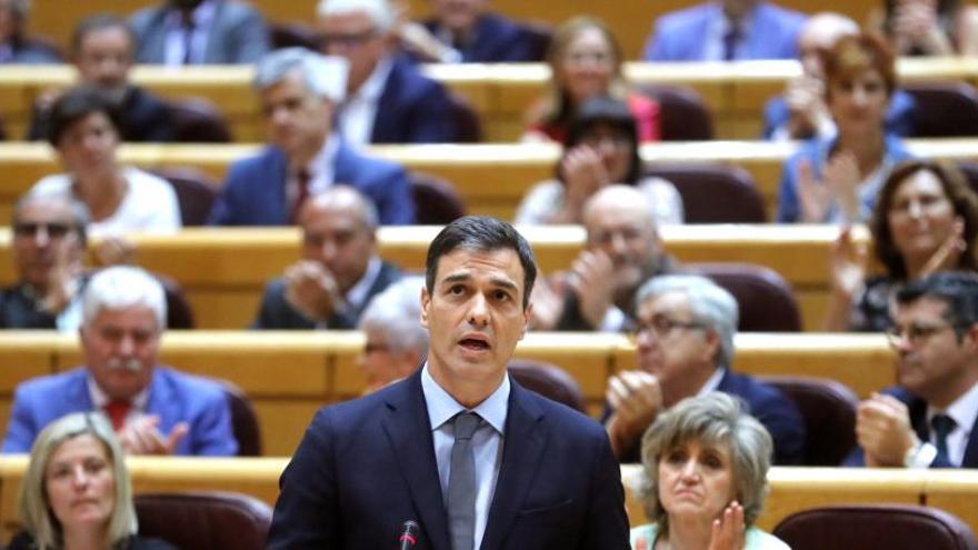 El PSOE presenta una moción para que el 20-N el Senado condene el franquismo