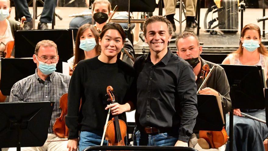 Dos titanes y un Stradivarius