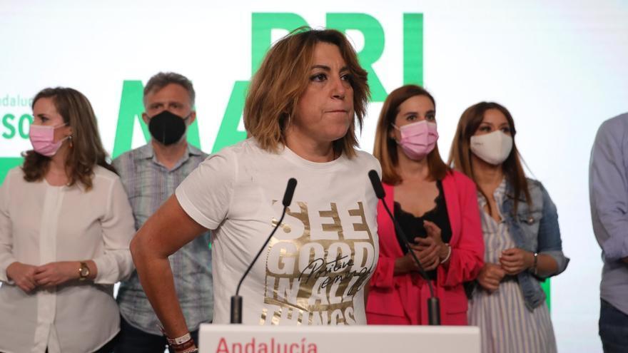 Díaz anuncia que no se presentará a la reelección como secretaria del PSOE-A