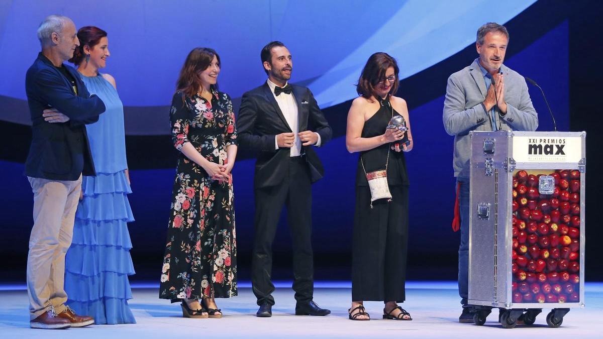 Gala de los Premios Max 2019.