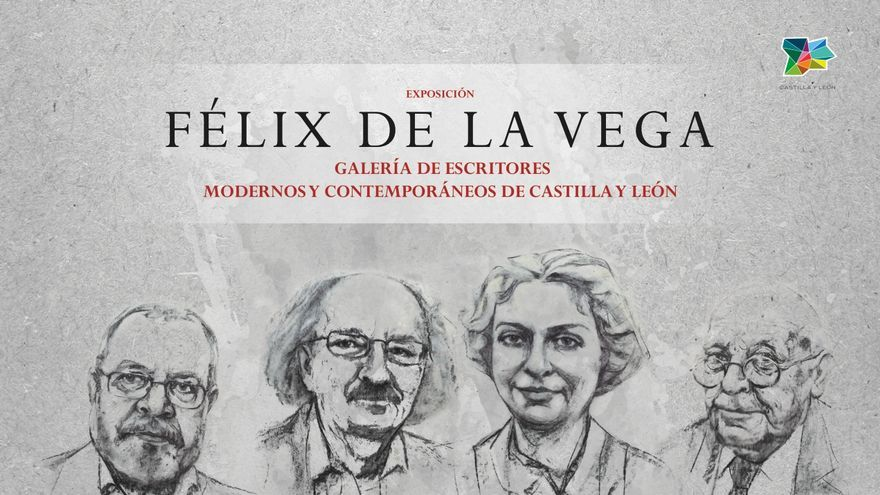 Llega a Zamora la exposición 'Félix de la Vega. Galería de escritores modernos y contemporáneos de Castilla y León'