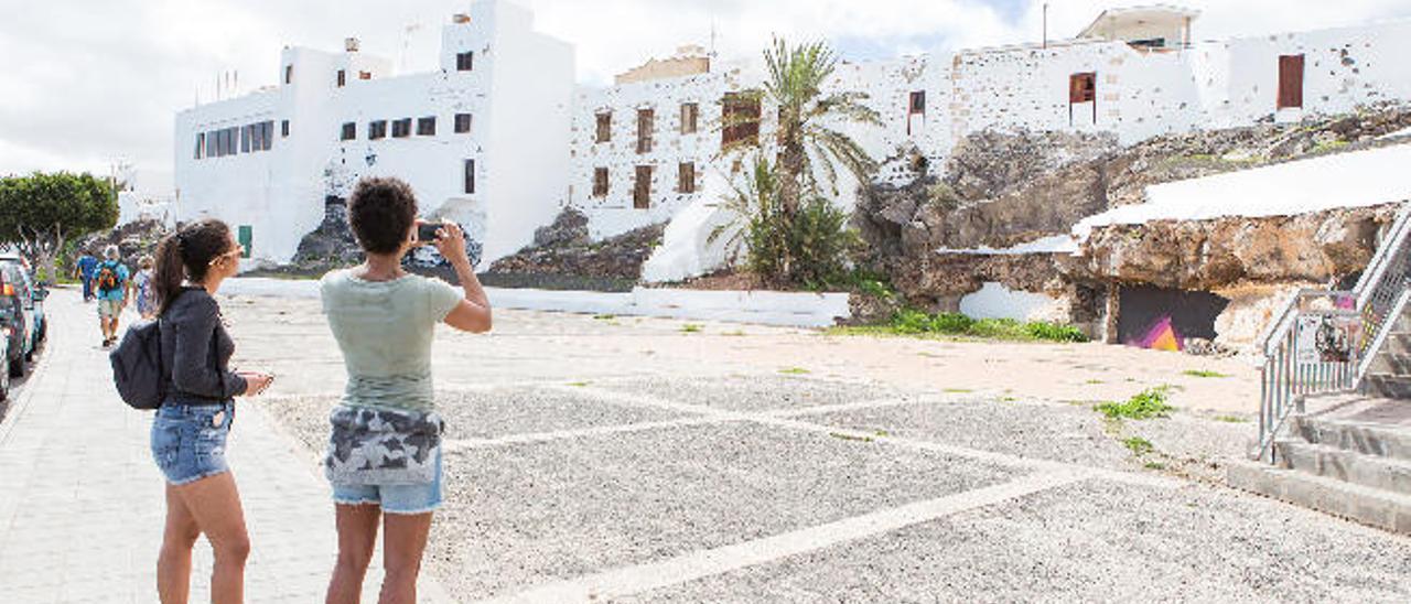 Lo que queda de Puerto Cabras
