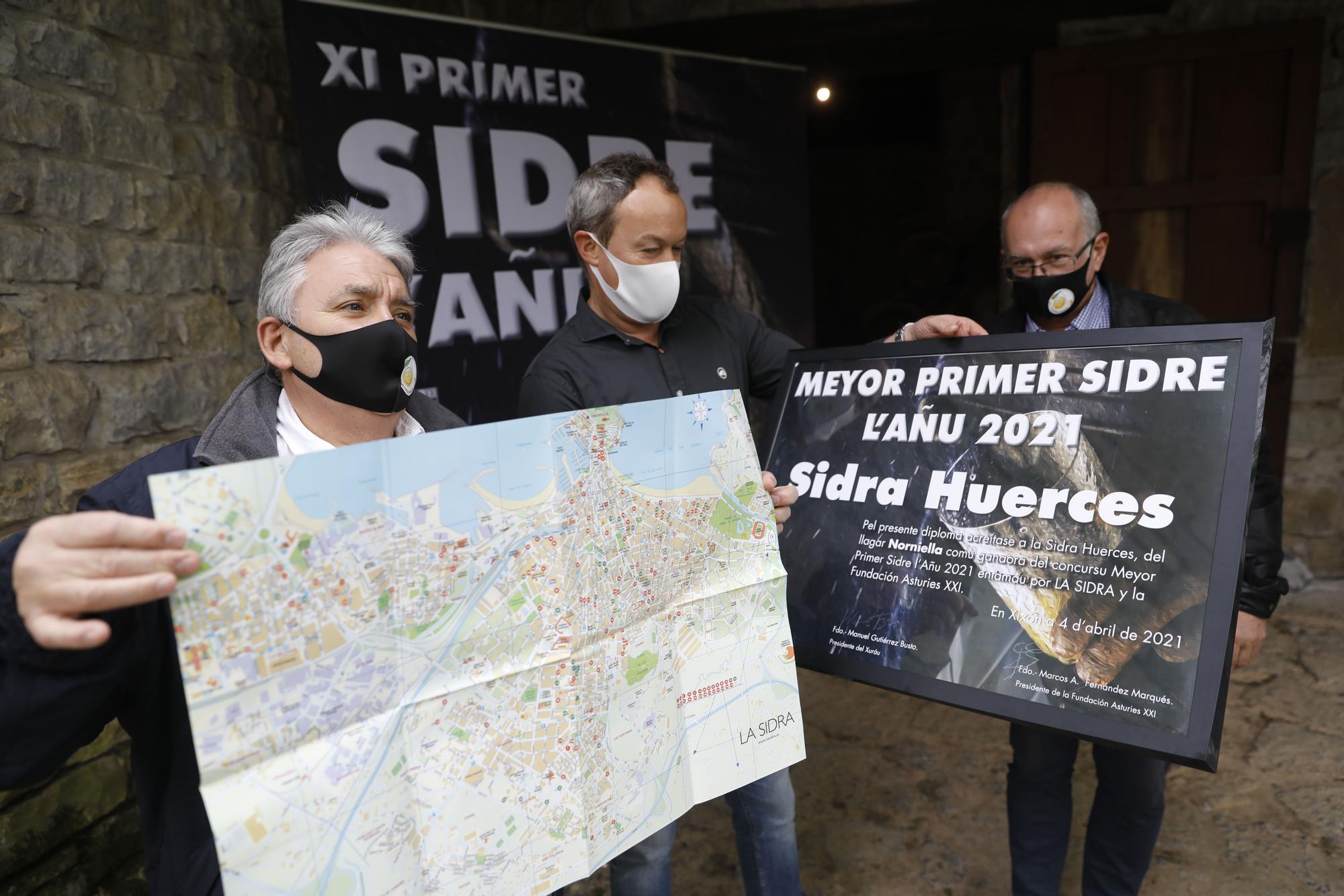 La Primer Sidre de L'Añu vuelve a Gijón