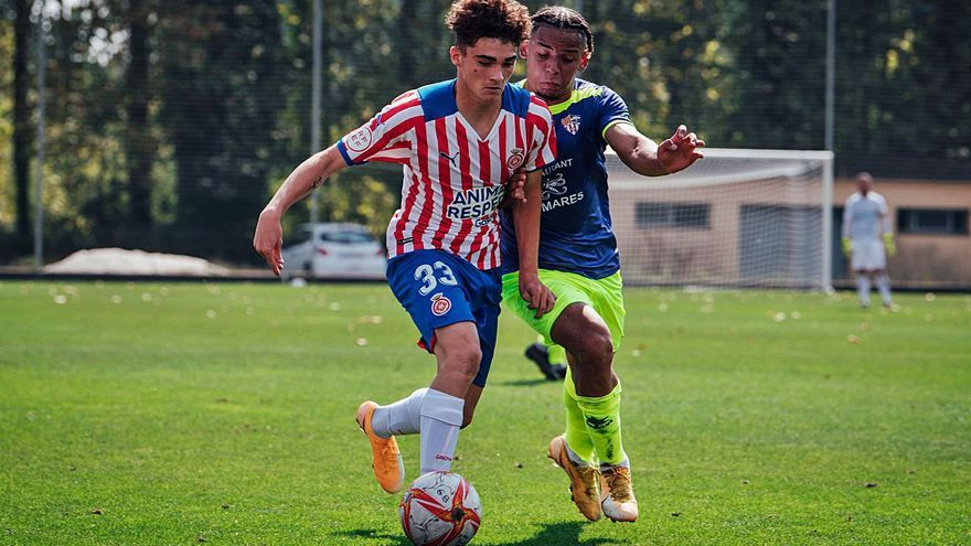 Joel Roca: el jugador del Girona que va un pas més endavant
