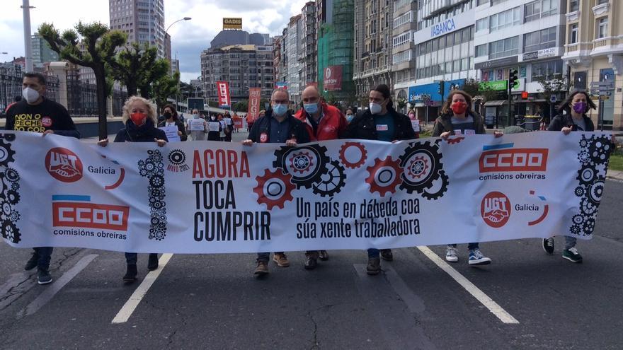 Los sindicatos vuelven a la calle para reclamar un sistema laboral más justo
