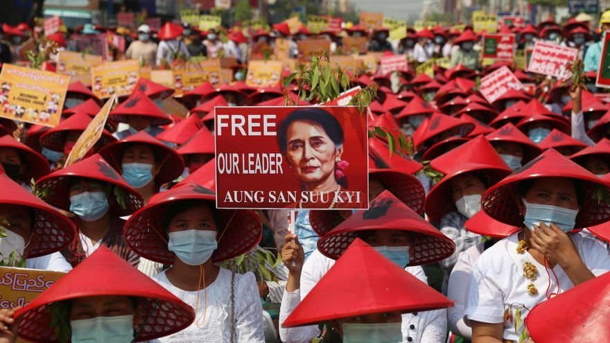 La ONU denuncia que 18 manifestantes han muerto en las protestas en Birmania
