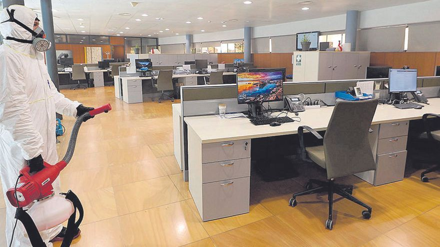 Las instalaciones de Diario de Ibiza, libres de Covid-19